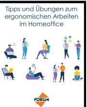 Tipps und Übungen zum ergonomischen Arbeiten im Homeoffice