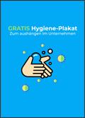 Hygiene-Plakat: STOP für Corona-Virus und Co