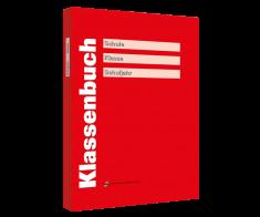 Klassenbuch rot